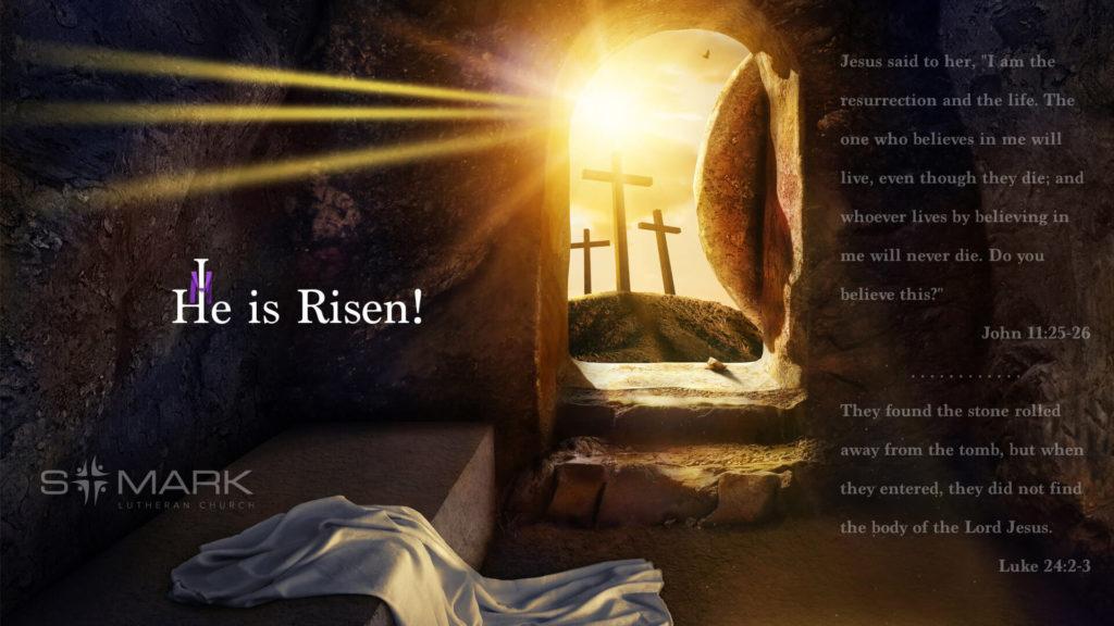 St Mark Desktop Easter